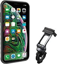 Topeak Ridecase with Mount - Fits iPhone XS MAX, Black/Gray