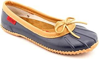 Chooka Womens Classic Dot Skimmer Womens' Waterproof Skimmer Ballet Flat