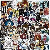 Harry Potter Adesivi Stickers - YUESEN 100 Pezzi Cool Unici Adesivo per Bombole d'Acqua Adesivo per Bambini di Skateboard per Chitarra, motociclette, Bicicletta, autoadesivi paraurti Bomba Impermeabi