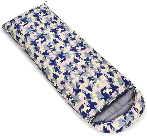 JBHURF Sac de Couchage pour Camping en Plein air Sac de Couchage à Compression Portable pour Sac de Couchage Double (Capacité   3.0kg, Couleur   Camouflage Powder)