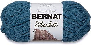 Bernat Blanket Yarn, 5.3 oz, Dark Teal, 1 Ball