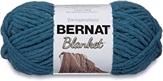 Bernat Blanket Super Bulky Yarn, 5.3oz, Guage 6 Super Bulky, Dark Teal