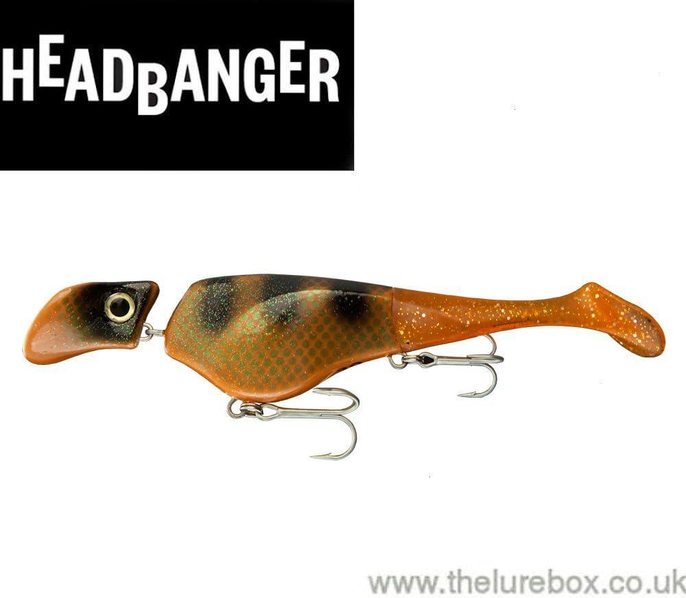 Headbanger Lures Pike Lures 22cm Crappie Predator Lures 2 Piece Set