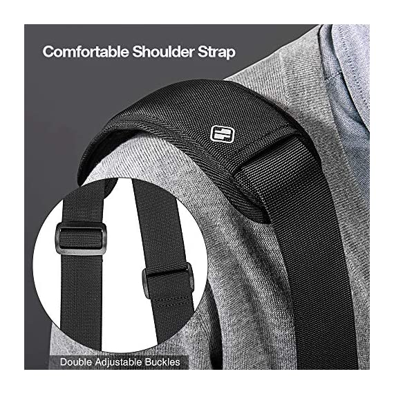 """tomtoc 13.5 Inch Laptop Shoulder Bag for 13-inch MacBook Pro, MacBook Air, Surface Book, Surface Laptop, Multi… 5 Compatibility: External dimensions- 14.17"""" x 10.43"""" x 2.76""""; Universal fit 13-inch MacBook Pro, MacBook Air, 12.9"""" iPad Pro, Microsoft Surface Book, Surface Laptop, Dell XPS 13, and more 13-inch laptops ultrabooks chrome books Ultra Protection: tomtoc laptop shoulder bag features protective padding at the bottom of the individual laptop compartmentand ultra-thick, yet lightweight protective cushioning to ensure your laptop will remain safe from drops, bumps, dents, scratches and spills, like the car airbag Well-organized: The main compartment features a laptop slot and a tablet slot for up to 11"""" iPad Pro with smart case & keyboard. Two front pockets With small and large pockets, and multiple elastic bands to make it easier than ever to organize accessories such as charger, cable, mouse, hub etc."""