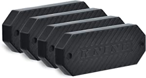 KNINE OUTDOORS Gun Magnet 4 Pack 45 Pound Capacity Magnetic Gun Mounts for Pistol Revolver Rifle Carbine Shotgun and More Self Defense Home Bedroom Desk Car and Truck Accessories for Men and Women