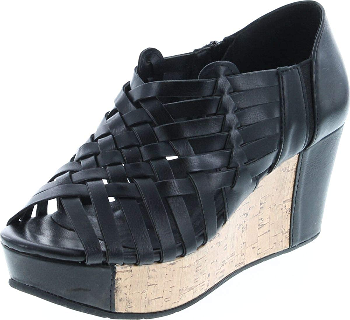 Pierre Max 66% OFF Dumas Women's Direct sale of manufacturer Natural-1 Vegan Criss Cross Leather Strappy