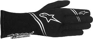 Alpinestars 2017 Tech 1 Start Glove - Size Medium - Black - SFI 3.3 LEVEL 5/FIA 8856-2000 (3551617-10A-M)