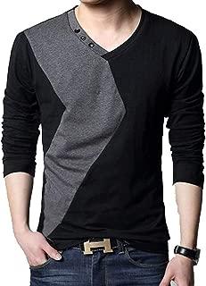 [ Smaids x Smile (スマイズ スマイル) ] トップス 長袖 ロンT Tシャツ カットソー スタイリッシュ 丸首 配色 メンズ