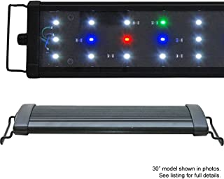 BeamsWork EA Full Spectrum LED Aquarium Fish Tank Light Freshwwater Plant Extendable Timer