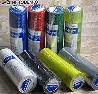 日東電工ビニルテープ №21トクハバ 38×10 緑 (5巻単位での販売です)