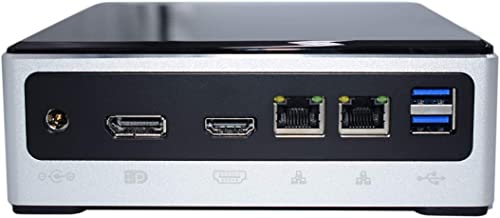 Mini Ordinateur Mni PC Windows 10 Pro 16GB RAM 512GB SSD Core i7 10510U Ordinateur de Bureau avec Ports HDMI/TPC/DP, ...