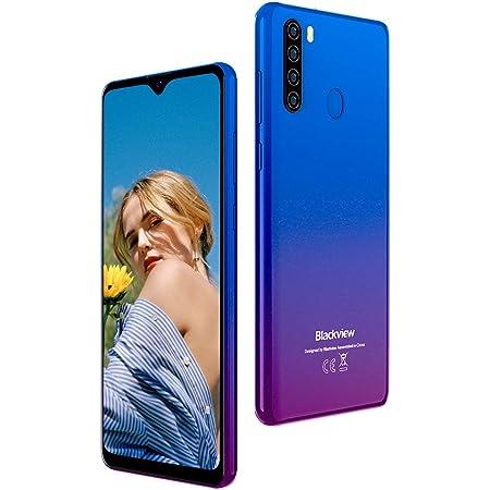 Smartphone Offerta del Giorno 4G, Blackview A80 Plus (2021) Cellulari Offerte con 13MP Quad Camera, 6.49 Pollici, Octa-core 4GB/64GB, 4680mAh Batteria Dual SIM Android 10 Telefono Cellulare - Blu