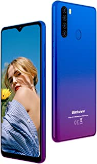 "Móviles Libres 4G, Blackview A80 Plus Smartphone Libre Android 10 con Cámara Trasera Cuádruple 13MP, 6.49"" HD+ Water-Drop ..."