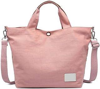 Fanspack Womens Handbag Tote Bag Pure Color Multifunctional Top Handle Bag Crossbody Bag