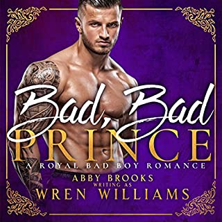 Bad, Bad Prince audiobook cover art