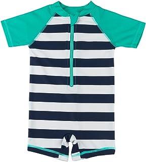 cafa87931c Kids Boy Girl Swimsuit One Piece Surfing Suits Beach Swimwear Rash Guard