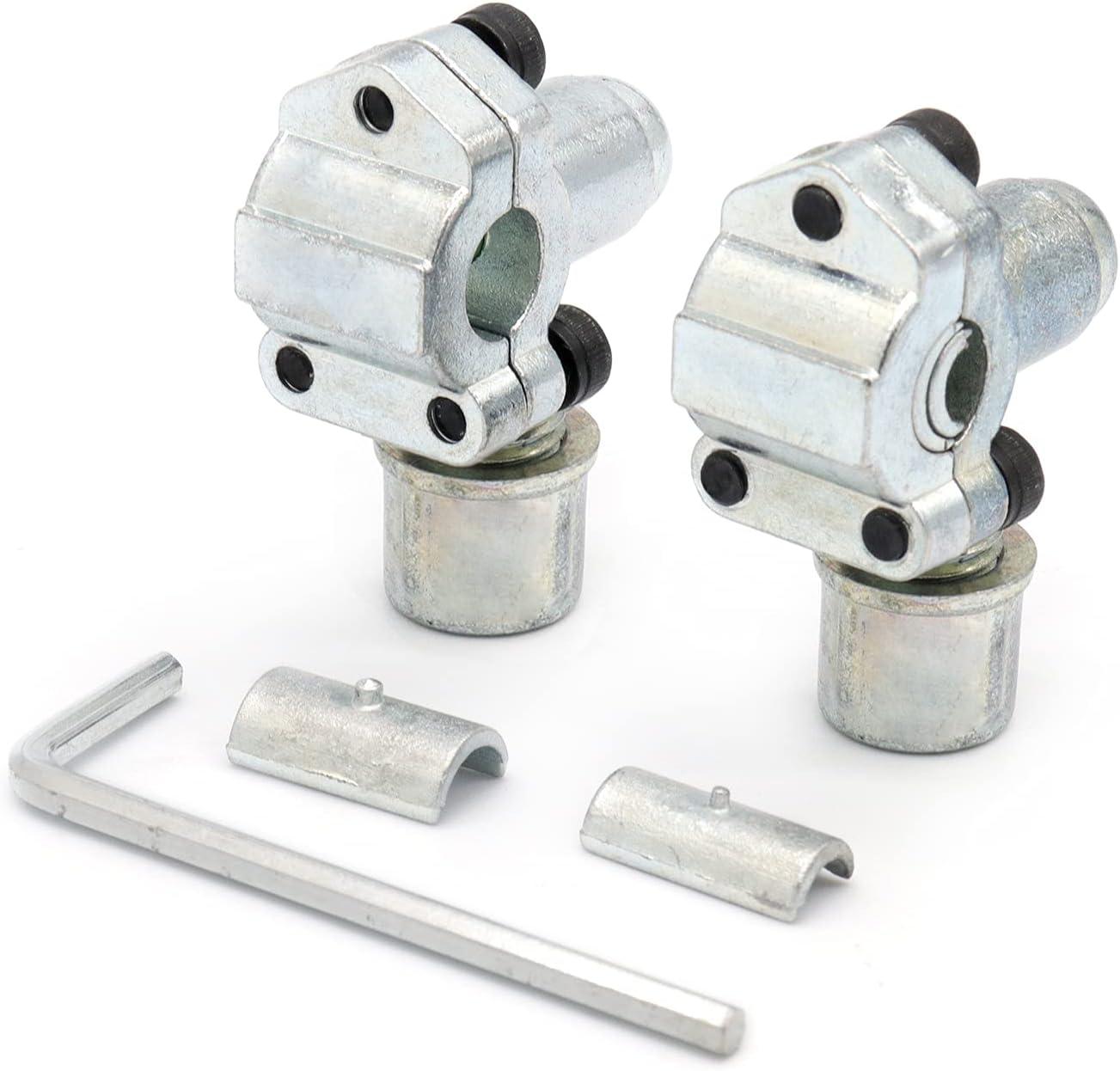 RUIZHI 2pcs Kit de Válvula de Grifo Perforadora de Bala BPV-31 Válvula Ajustable Bullet Piercing Tap Valve para Acondicionadores de Aire Tubos de 1/4, 5/16, 3/8 Pulgadas