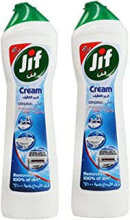Jif Cream Cleaner Original, 500ml (Pack of 2)