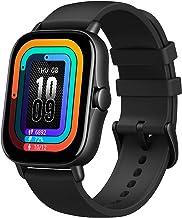 """ساعت هوشمند Amazfit GTS 2 با داخلی الکسا ، صفحه نمایش 1.65 """"AMOLED ، GPS داخلی ، ذخیره سازی 3 گیگابایت موسیقی ، عمر باتری 7 روزه ، تماس های تلفنی بلوتوث ، 12 حالت ورزشی ، پیگیری سلامت ، ضد آب ، سیاه"""