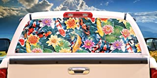 Koi Pond Rear Window Graphic   HD Truck & Car Back Window Graphic SignMission