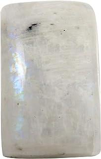 Gems&JewelsHub Piedra lunar arco iris octágono piedra preciosa natural suelta 37,25 quilates OG43