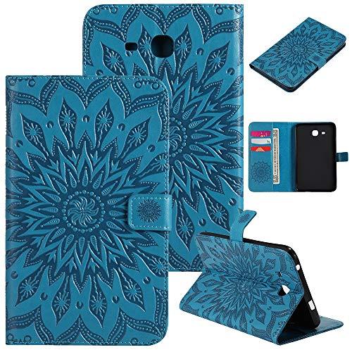 HHF Pad Accesorios para Samsung Galaxy Tab A A6 7.0 Pulgadas, Cubierta a Prueba de Golpes de Cuero para la Tableta de la Tableta de la Estela de Samsung Galaxy A6 7.0 Pulgadas de 2016 SM-T280 SM-T285