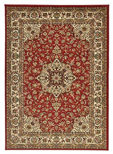 THEKO Tapis HAMADAN Coloré: rouge Dimension: 133 x 190 cm