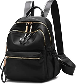 8a5832976413 Wraifa Waterproof Oxford PU Leather Small Backpack Purse for Women School  Bag for Girls