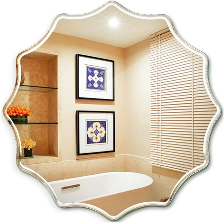 BINGFANG-W Mirror Round Bathroom Wall Portland Mall Mounted Hd Limited Special Price Ma Mount