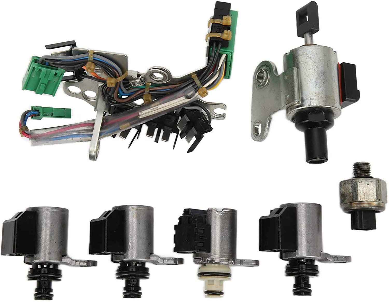 Transmission Solenoid Max 47% OFF Free Shipping New Valve Remanufactured JF Kit