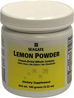 Seagate Products Whole Lemon Powder Concentrate 100 Grams