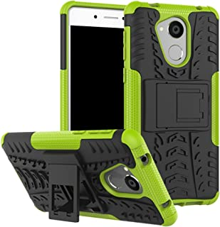 Huawei Honor 6C Case, Honor 6C Hybrid Case, Dual Layer Shockproof Hybrid Rugged Case Hard Shell Cover with Built-in Stand for 5.0'' Huawei Honor 6C [NOT fit Honor 6 / Honor 6A / Honor 6X]