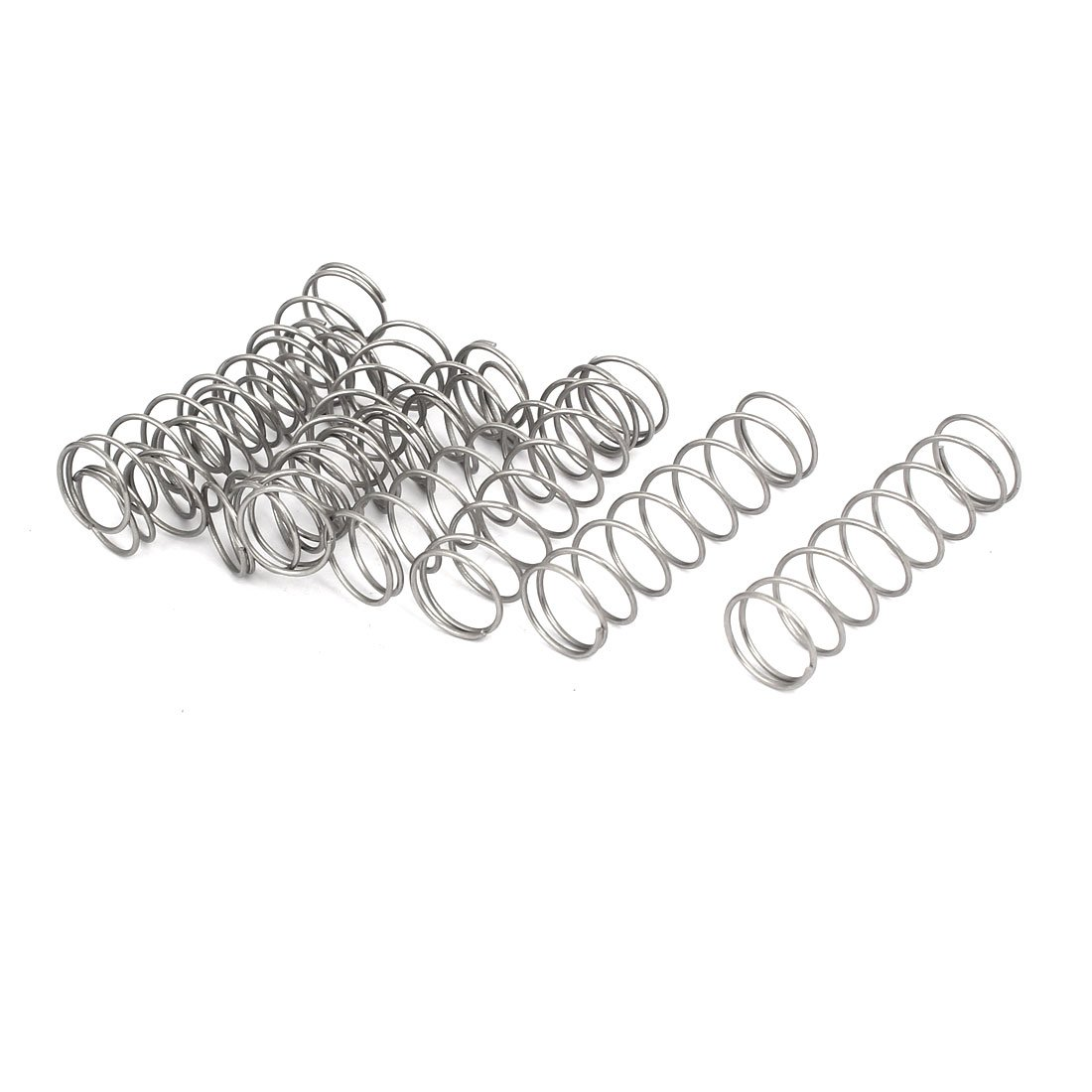 uxcell Max 44% OFF Compression Spring Time sale 304 Stainless Wire 12mm OD 0.8mm Steel