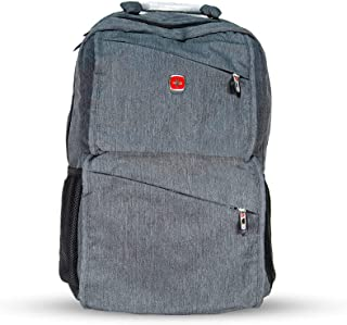 Super Light Swissgear Waterproof 15.6 inch Laptop Backpack with 30 Liter Travel Bag - Grey