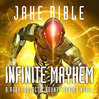 Infinite Mayhem audiobook cover art