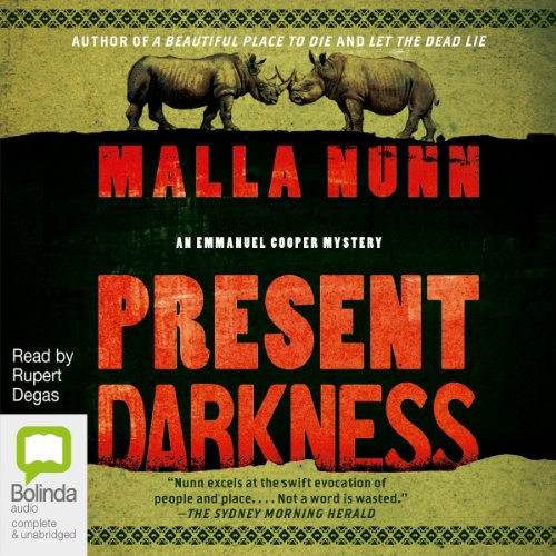 Present Darkness audiobook cover art