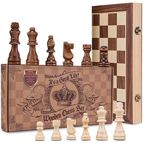 AGREATLIFE Königliches Schachspiel Bild