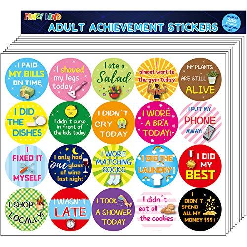 Adult Achievement Stickers