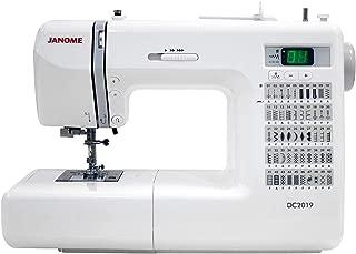 Janome DC2019 Computerized Sewing Machine with Bonus Bundle