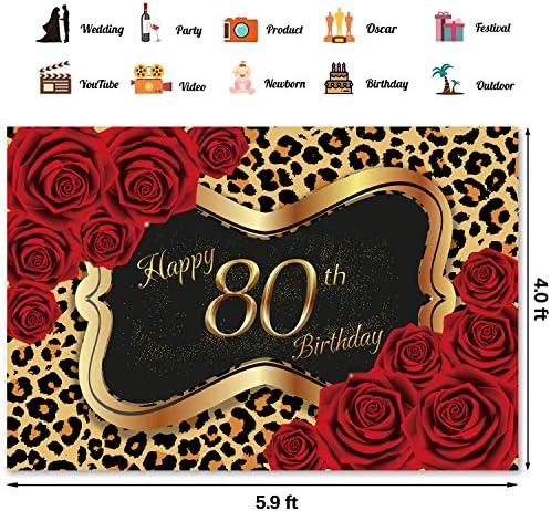 80th birthday background _image1