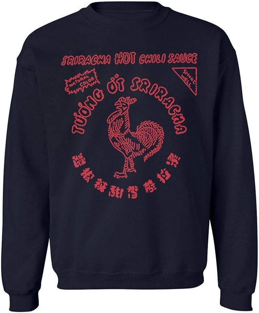 Branded goods Sriracha Hot Chili Sauce Shirt Sweat Crewneck Many popular brands Men's