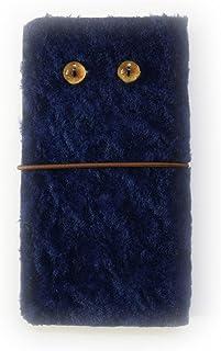 GALAXY Note Edge SC-01GSCL24 au [KYOTO SAKURAYA][左利き用] 羊革 ファー ふわふわ 毛皮 ベージュ 手帳型 case スマホケース スマホ カバー ケース 携帯 ストラップ穴 カメラ穴 京都さくらや