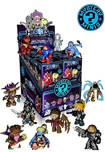 Heroes of the Storm Mystery Minis Mini-Figure Display Case