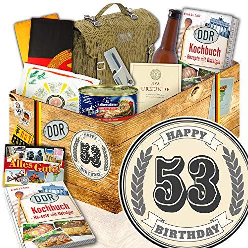 53. GeburtstagsGeschenk NVA Paket / Geschenke 53. Geburtstag für Mann / NVA Set