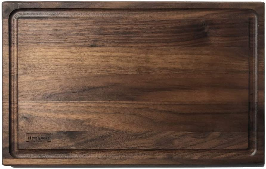 Walnut Wood Time sale Cutting online shop Board for Large Wooden Butc Kitchen