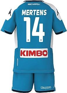 ssc napoli Mertens 2019/2020 set Gara barn, pojkar, 8033562604050, 14 Mertens, 14 anni