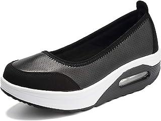 Aitaobao Femmes Plateforme Chaussures de Minceur Minceur Fitness Confortable Baskets Curse Compens Loafers Basses Mocassin...