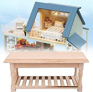 Mini table en bois, modèle en bois durable et délicat, pour la maison de salle à manger