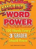 Amazing Word Power: 100 Words Every 3rd Grader Should Know Smart, B.