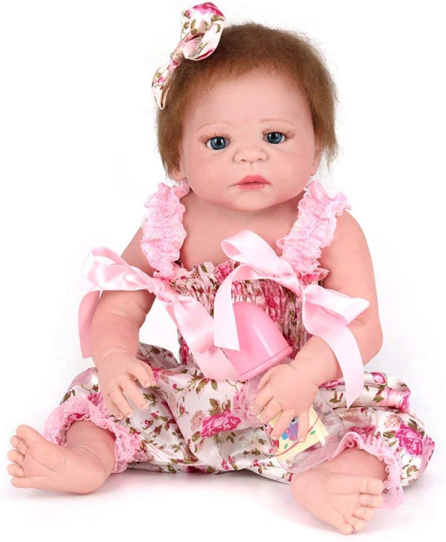 HSDDA Puppenkissen Wiedergeborenes Baby Dolls Handgemachte lebensechte realistische Silikon Vinyl Baby Doll weiche Simulation 22 Zoll 55 cm Augen öffnen Mädchen Lieblingsgeschenk Cartoon-Plüschkissen B07PDBS2D9 Gewinnen Sie hoch geschätzt |